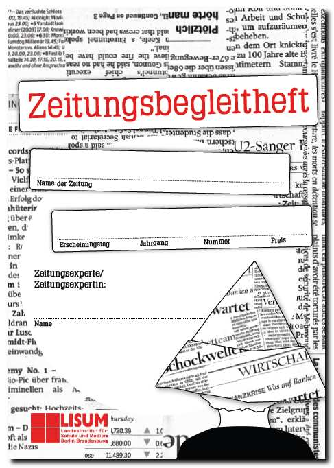 Cover des Zeitungsbegleithefts