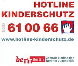 Logo zur Hotline Kinderschutz Berlin