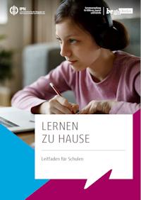 Cover des Leitfadens Lernen zu Hause für Schulen