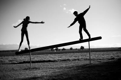 durch Hilfe zur Balance finden