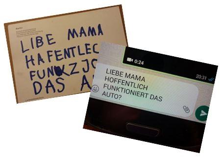 Bild Brief, Postkarte oder Textnachricht