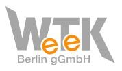 Logo WeTeK Berlin gGmbH