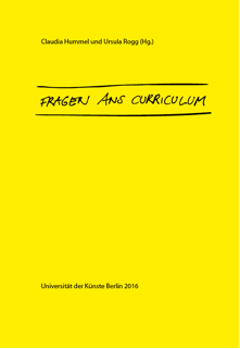 Cover Fragen ans Curriculum