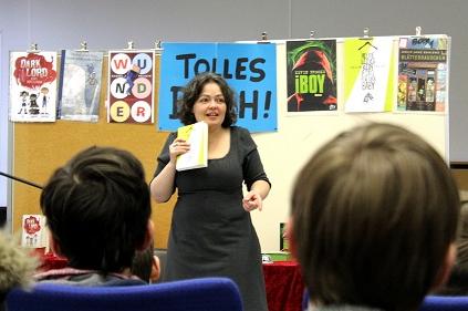 Büchershow mit Tina Kemnitz