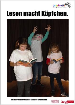 LeseProfis der Matthias-Claudius-Grundschule