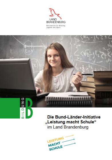 """Cover der Broschüre """"Leistung macht Schule"""""""