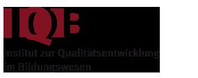 Logo des Instituts für Qualitätsentwicklung im Bildungswesen