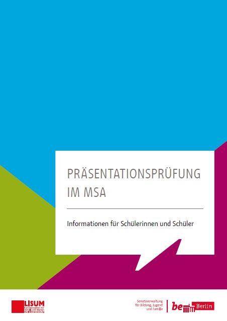 Informationen für Schülerinnen und Schüler